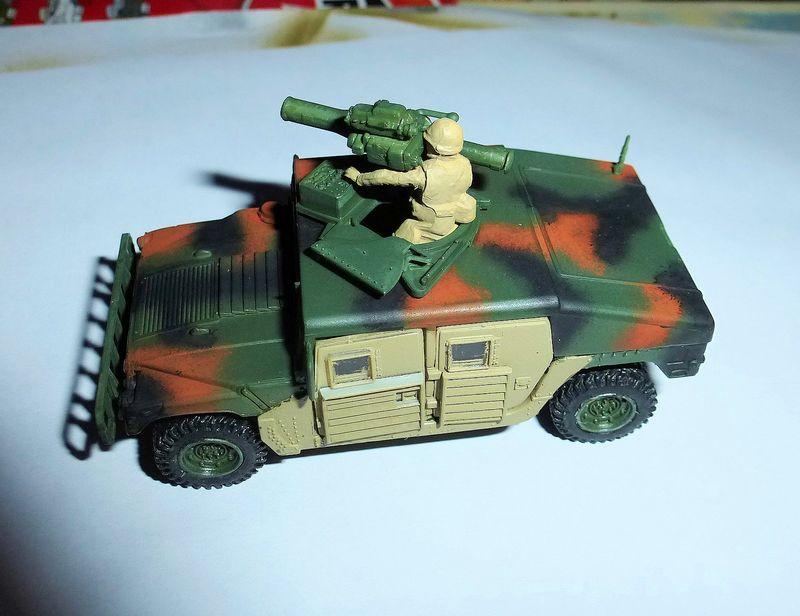 HMMWV (Hummer) 1/72 Revell et Dragon Hummer10