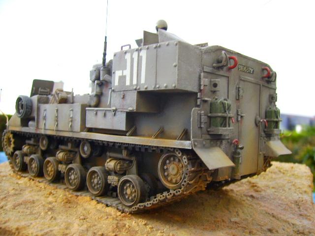 Ambutank et M74 IDF - 1/35 - Bases Dragon et Italeri Pict0010