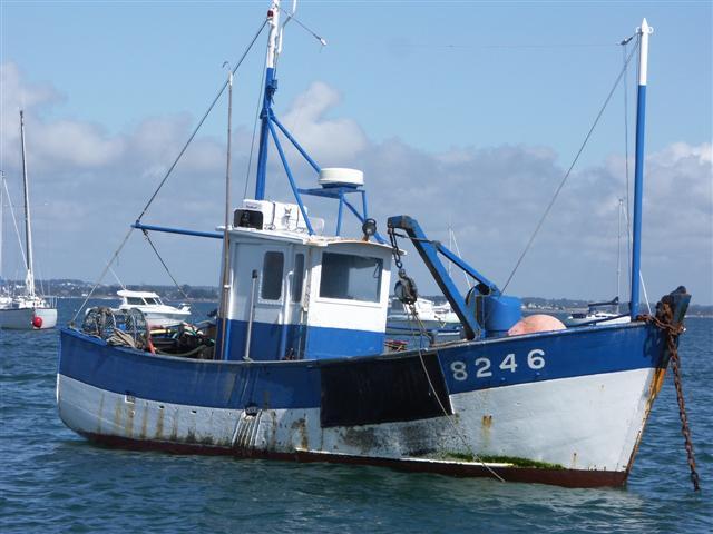 [VIE DES PORTS] Quelques bateaux de pêche (sur nos côtes Françaises) - Page 3 Remora11