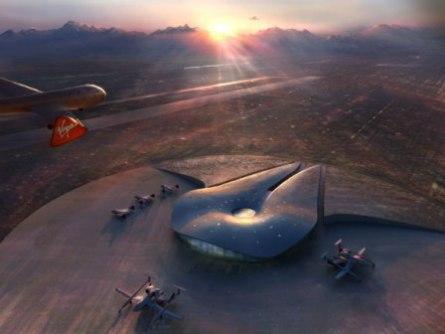 Le futur port spatial America dévoilé Temp110