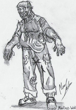 Models - Environment/Weapons/Characters Zombie10
