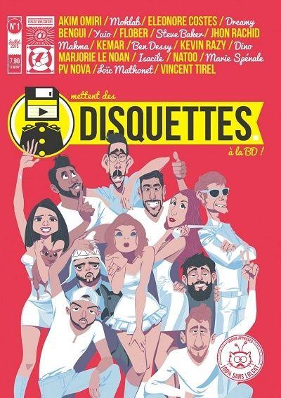 """[BD] """"Disquette"""" avec Éléonore Costes et FloBer (2015) Disque10"""