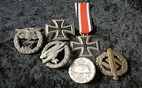 "Boucle Waffen SS en maillechort ""cracked wings"" Mc10"
