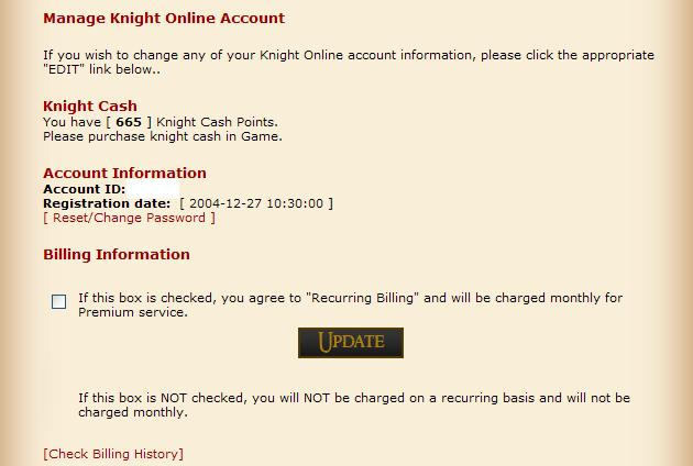 All check your account on homepage Autobe10
