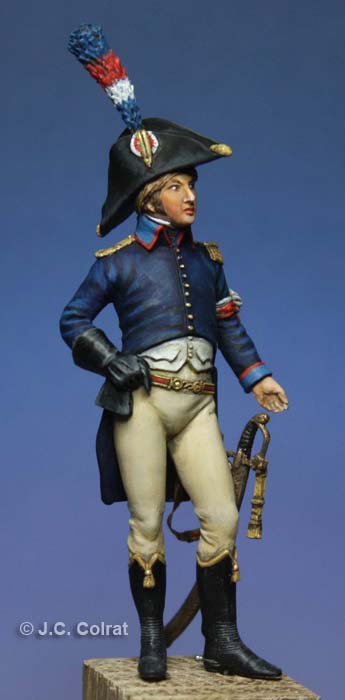Eugène de Beauharnais aide de camp de Bonaparte en Égypte 1798-1799. 0310