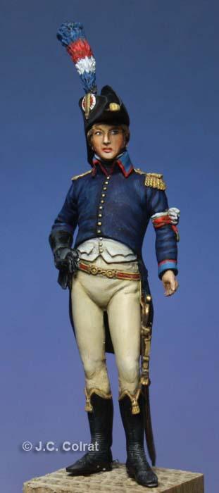 Eugène de Beauharnais aide de camp de Bonaparte en Égypte 1798-1799. 0410