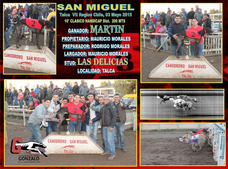 GRANDES CLASICOS EN CANODROMO SAN MIGUEL DE TALCA PARA ESTE DOMINGO 3 DE MAYO 10-cla11
