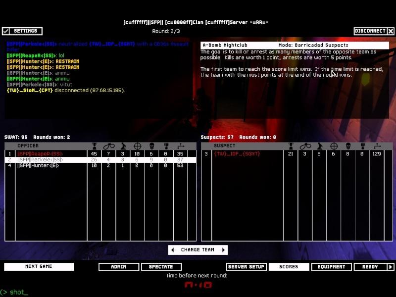 Clan war against TW 14.11.07 Result: won Shot0010