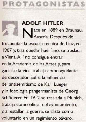 Publican perfil sicológico de Hitler Biozoo10