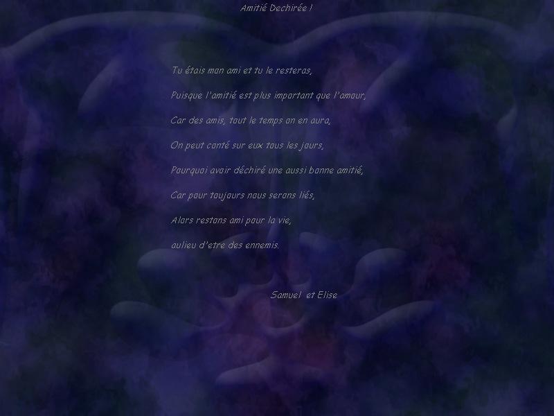 poemes triste Fond110