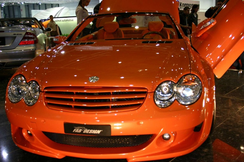 [Photos] Galerie : La Mercedes SL R230 Merced55