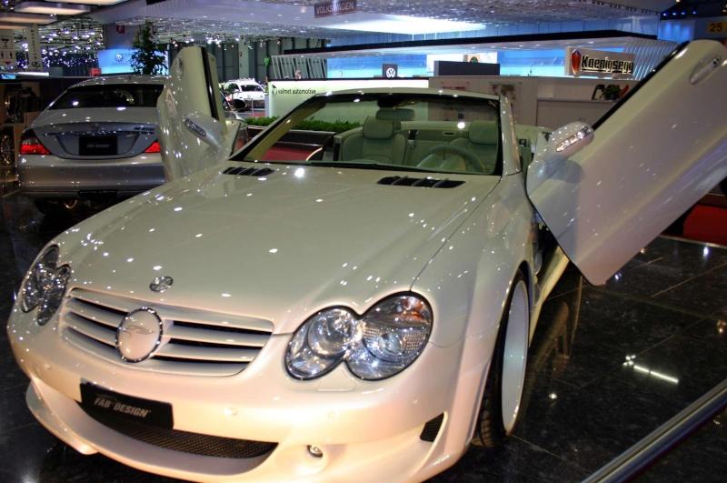 [Photos] Galerie : La Mercedes SL R230 Merced59