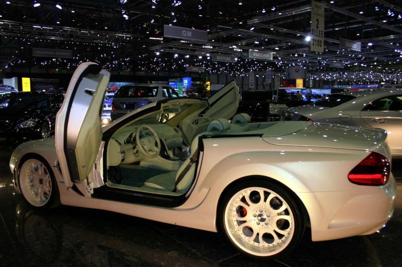 [Photos] Galerie : La Mercedes SL R230 Merced60