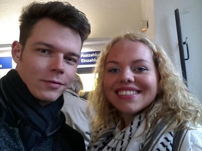 Georg avec une fan à Magdebourg 27.04.2015 11155110