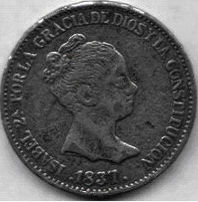 20 Reales de Isabel II (1837), ¿Falsa o inédita? Isabel10