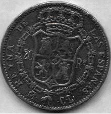 20 Reales de Isabel II (1837), ¿Falsa o inédita? Isabel11