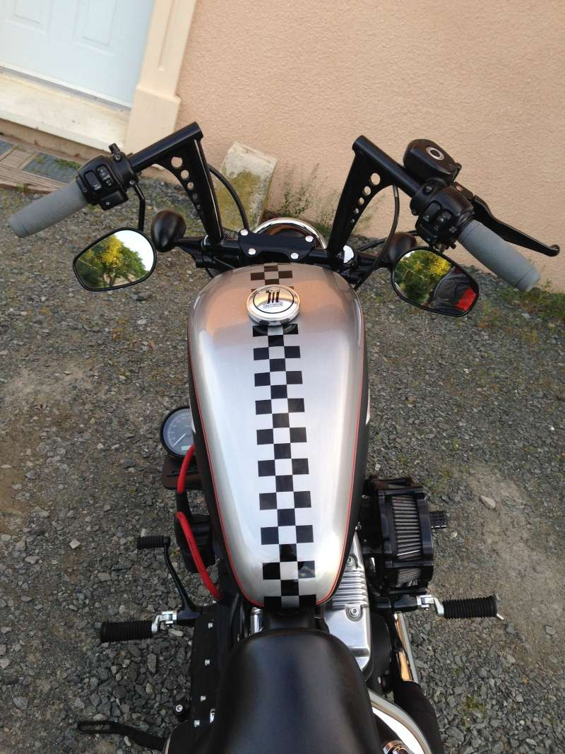 Harley Davidson Sporster 1200 Forty Eight avec quelques modifs ... - Page 10 Img_4411