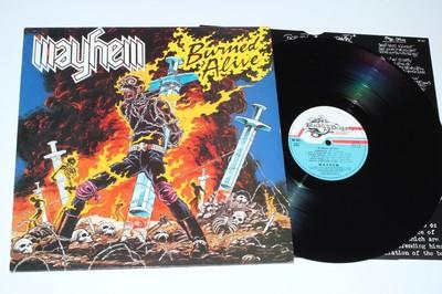 MAYHEM Burned alive (1987) Thrash 31070910