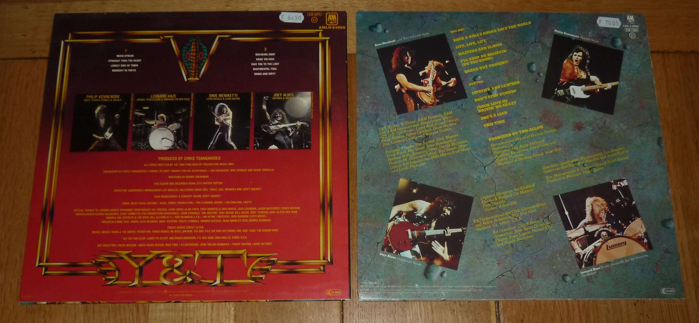"Y & T   ""Earthshaker"" (1981) P1170114"