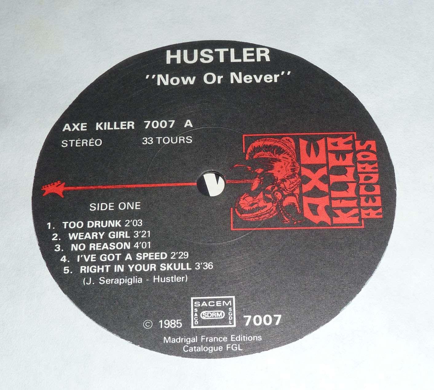 HUSTLER No Or Never (1985) France  P1170315