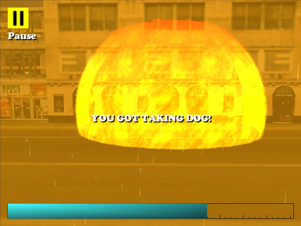 Driver: You are the wheel-man. Screen10