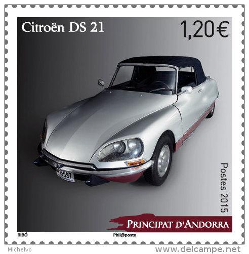 CITROEN et La POSTE  en timbres..... - Page 2 Andorr10