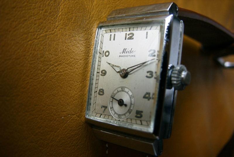 UNE MONTRE EXACTE à la seconde:MIDO 1938 !!! R0010512