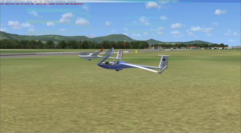 compte rendu  vol  planeur entre  (LFSF) et Colmar Houssen (LFGA) Planeu10