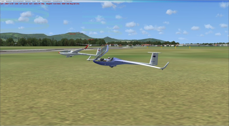 compte rendu  vol  planeur entre  (LFSF) et Colmar Houssen (LFGA) Planeu11