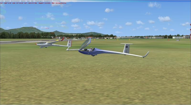 compte rendu  vol  planeur entre  (LFSF) et Colmar Houssen (LFGA) Planne10