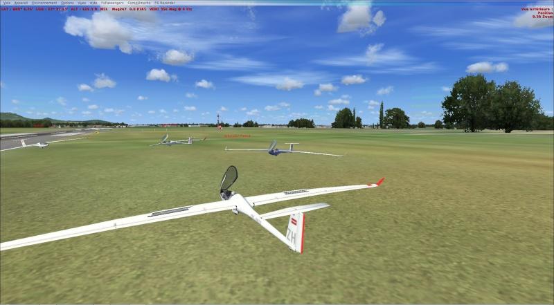 compte rendu  vol  planeur entre  (LFSF) et Colmar Houssen (LFGA) Planne11