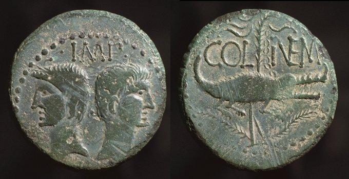 As et dupondius de Nîmes - Page 2 Nimest10