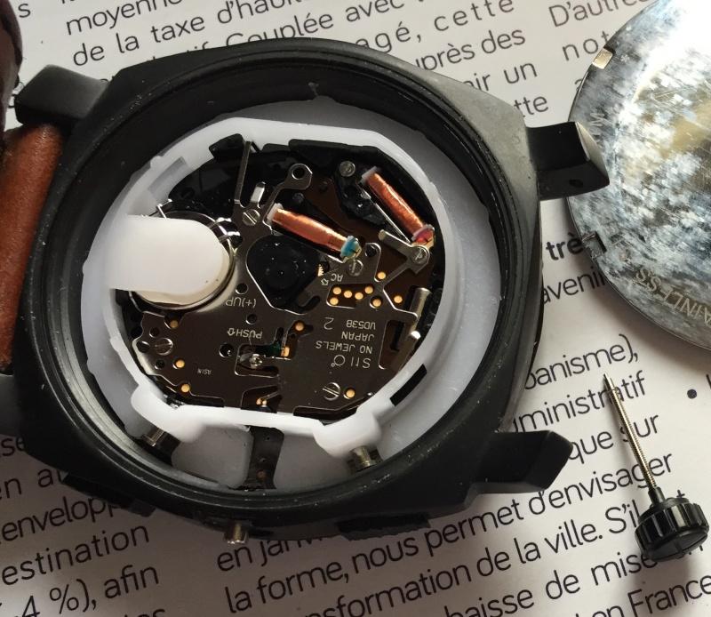 tige de remontoir cassé sur montre Fossil Fossil10