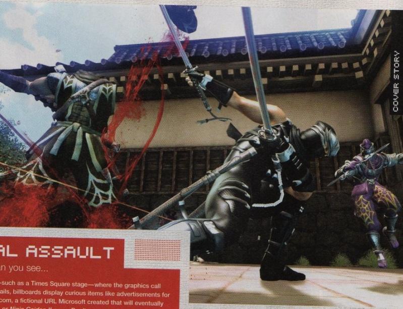 new Scans e info Ninja Gaiden II 17577010