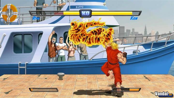 Primeras imágenes de Super Street Fighter II Turbo HD 20071011