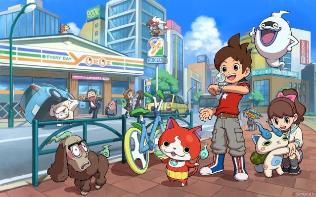 """Le nouveau phénomène japonais """"Youkai Watch"""" ! Youkai10"""