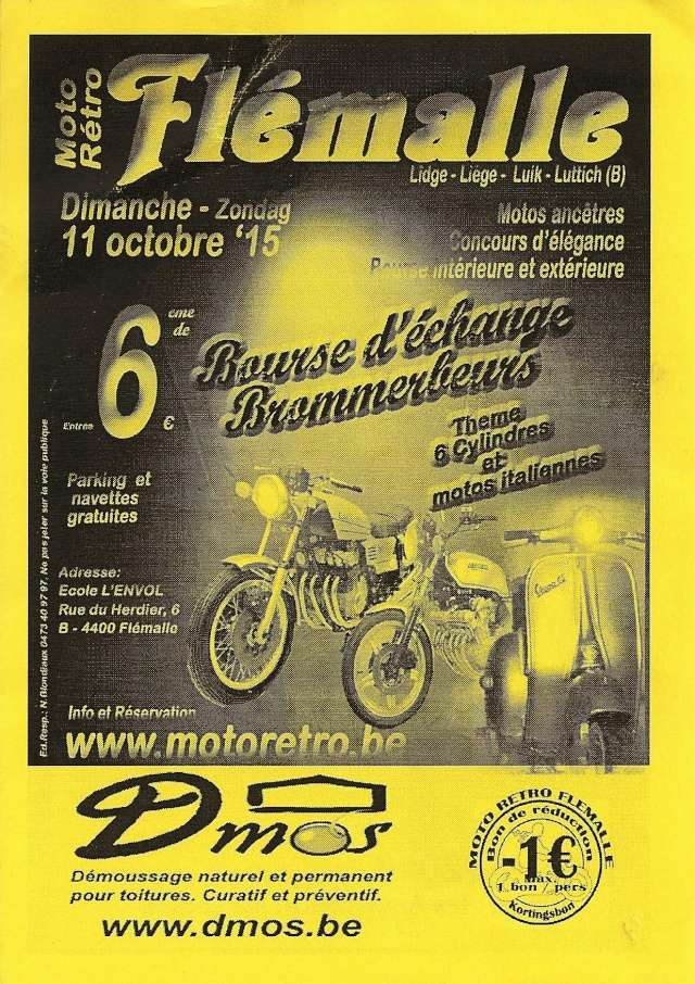 Moto Retro Flémalle (11 oktober 2015) Flymal10
