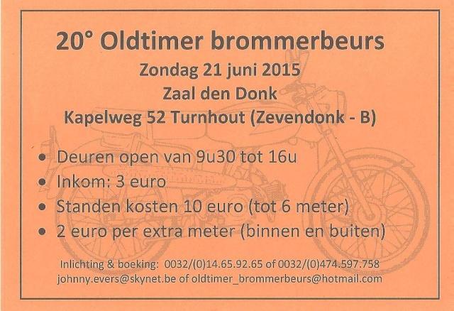 Oldtimer Brommerbeurs Turnhout (21 juni 2015) Oldtim10