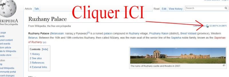 Châteaux de Slovaquie en un fichier KMZ Captur12