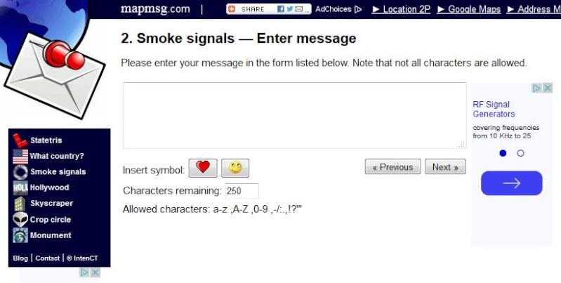 Envoyez vos signaux de fumée sur Google Maps  Captur20