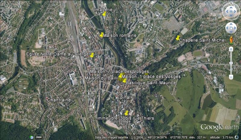 Châteaux de Slovaquie en un fichier KMZ Epinal10