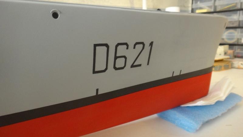 """Escorteur d'Escadre """"Surcouf"""" (D621); 1/100; full scratch Dsc02323"""