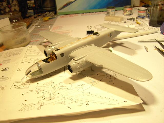 B-25C mitchell Pict8834