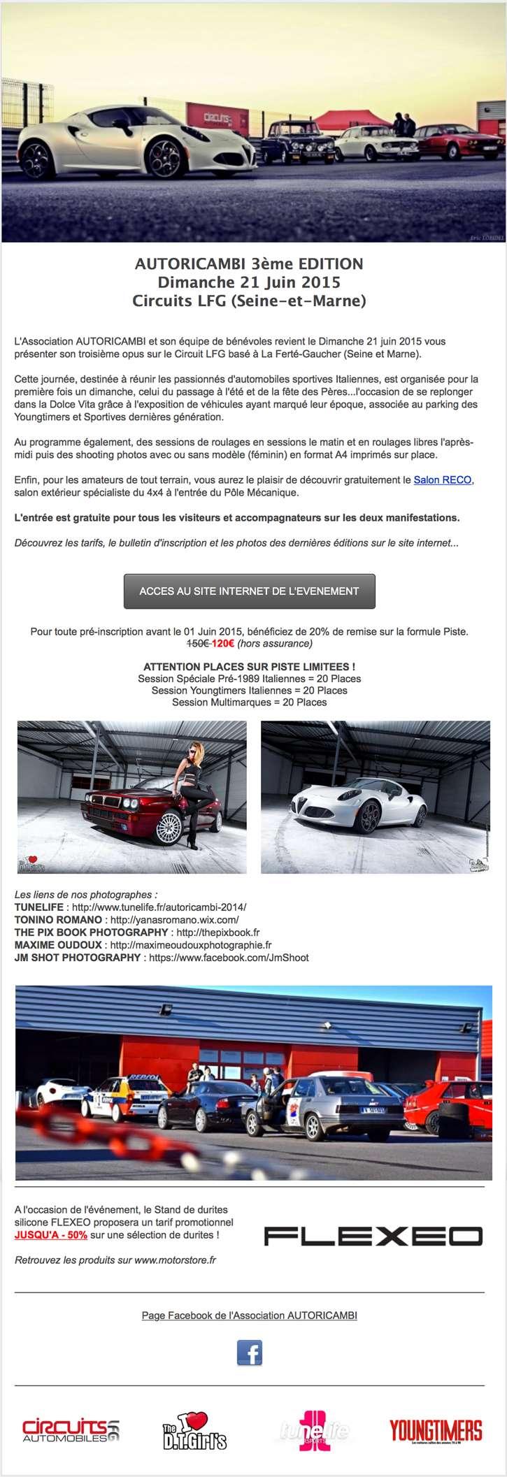 Circuit LFG - AUTORICAMBI Edition 3 // Dimanche 21 Juin 2015 Newsle10