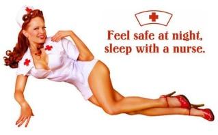 Drôleries de la guerre Nurse10
