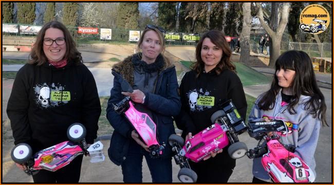 Les filles qui ont roulé à Montpellier 20150310