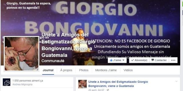 GIORGIO BONGIOVANNI.... UN HOMME PAS COMME LES AUTRES... AU SERVICE DE JESUS ET MARIE Facebo10