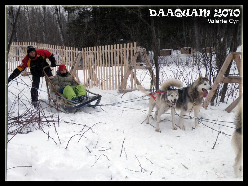 Daaquam les Internationaux de traineau à chiens du Canada 17-01-22