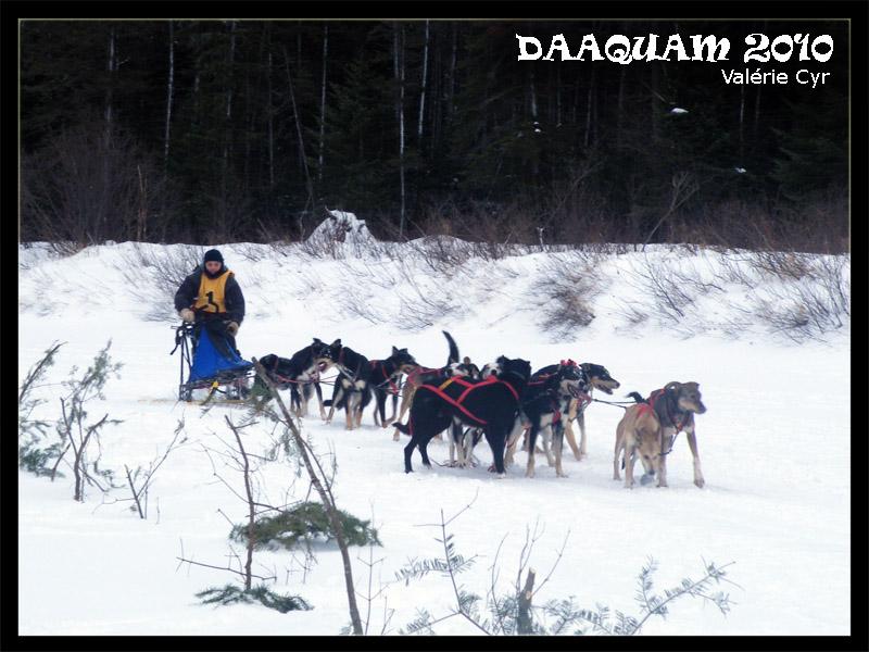 Daaquam les Internationaux de traineau à chiens du Canada 17-01-31