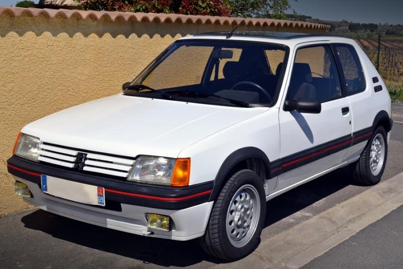 [ducatis4r]  205 GTI 1L6 - 1600 - BLANC MEIJE - 1988 110